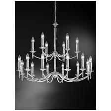 fl2090 18 petrushka 18 light chandelier polished chrome
