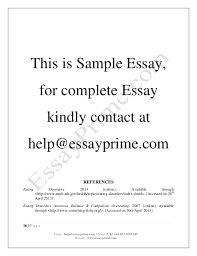 psychology in eating disorder essay sample  10