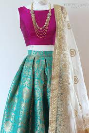 Lengha Suit Blouse Design Suuuuper Cute Like 50s Desi Girl Browngirl Magazine