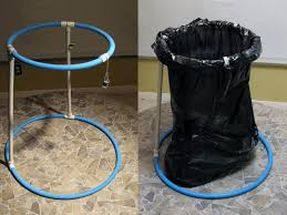camping trash bag holder