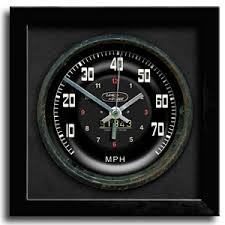 clic car sdometer clock land rover