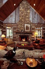 cabin living room open fire hand hewn logs fireplace ideasfireplace mantelswood