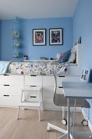 Kinder etagenbett stockbett hochbett bettgestell bett metall weiß 200x140/90cm. Hochbett Selber Bauen Mit Ikea Mobeln Betten Mit Stauraum