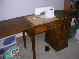 Innovative Plans For Sewing Machine Table and Amish Furniture