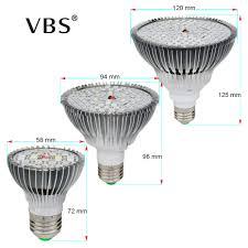 Grow <b>Led E27 Phyto Lamp</b> 10W 30W 50W 80W <b>E27 Led</b> Grow <b>Light</b> ...