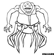 Small Picture Super Villains Online Coloring Pages Page 1
