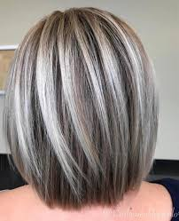 Transition To Grey Hair With Highlights Google Search Hair Dye