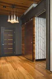 amazing warm modern entryway front door barn door materials