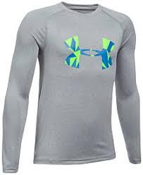 under armour shirts for boys. under armour ua tech logo-print shirt, big boys (8-20) shirts for