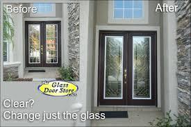 get a decorative glass door the glass door in front door glass insert inspirations entry