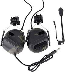 XSHION Noise Cancelling <b>Headphones</b>, Helmet-Type <b>Tactical</b> ...