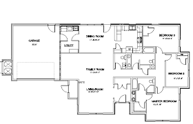 4 bedroom floor plans. Stylish Inspiration 6 House Plans 4 Bedroom 2.5 Bath Mountain Home Air Force Base Housing Floor I
