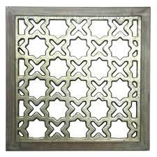 lattice wall art lattice square wood