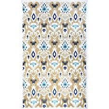 nuloom ikat charlotte tan 9 ft x 13 ft indoor outdoor area rug