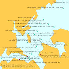 Hart Island And City Island Between New York Current 15d