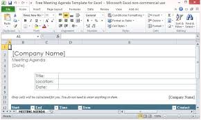 microsoft excel scheduling template free meeting agenda template for excel