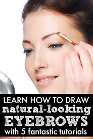 if you want to learn how to shape your eyebrows with makeup you ve