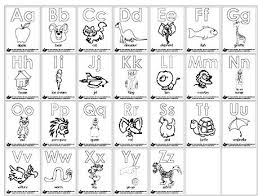 Nice Cartoon Alphabet Coloring Pages 51 For With Cartoon Alphabet