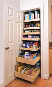 kitchen white corner kitchen pantry cabinet with pull out drawers and rectangle white wooden door