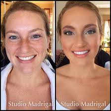 malina madrigal professional makeup artist before and after temptu airpod airbrush makeup by malina madrigal at studio madrigal