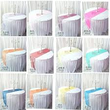 table runner size factory direct ing organza banquet table runner fit round table runners for round table runner size