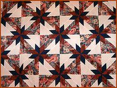 Taking the Mystery Out of Hunter's Star Quilts | Pinterest ... & hunter's star quilt pattern | Hunter's Star Quilts Adamdwight.com