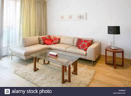 Open Floor Plan Living Room Furniture Arrangement Open Plan Living Room With Furniture Arrangement Stock Photo
