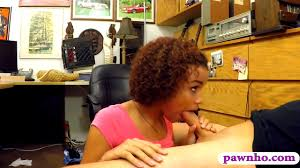 Curly hair ghetto gives head and pounded by pawn man HD Porn.