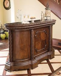 Buy Ashley Furniture North Shore Bar with Marble Top