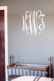 personalized monogram wall decal any room