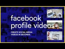 after effects template facebook profile videos