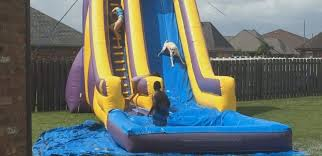 Fiberglass Pool With Water Slide And Private Hot Tub Cleveland Water Slides Backyard