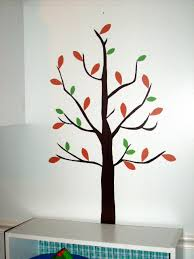 contact paper tree decal