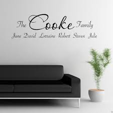 splendid design inspiration personalized family wall art home decor personalised family sticker lounge quote decal transfer tree on personalised wall art stickers quotes with splendid design inspiration personalized family wall art home decor
