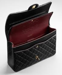 The Ultimate Guide: Chanel Timeless Bags | Bragmybag & Chanel-Classic-Flap-Bag-Interior Adamdwight.com