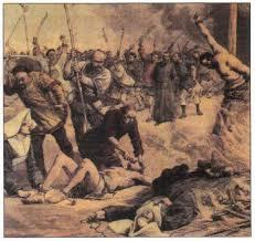 Самоизоляция Японии Сакоку Новая история Реферат доклад  Казнь последних христиан в Японии в 1638 г