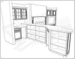 Autocad For Kitchen Design Cadkitchenplanscom Portfolio 3d Autocad