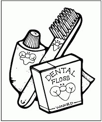 Get printouts of these images and provide them to your kids for coloring. Dental Hygiene Coloring Pages Coloring Home