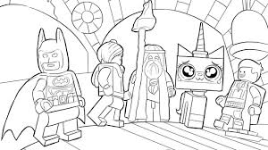 Wondrous Design Ideas Lego Coloring Pages 10 LEGO Movie Released ...
