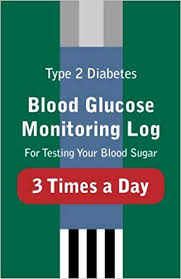 Blood Sugar Monitoring Log Type 2 Diabetes Blood Glucose Monitoring Log For Testing Your Blood