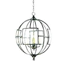 6 light chandelier rubbed bronze with seeded glass pendant shade replacement transitional chandeliers