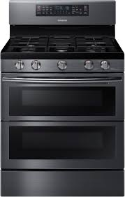 Gas Range With Gas Oven Samsung Gas Ranges