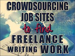 crowdsourcing job sites to lance writing work   lance writing work