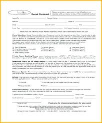 Event Photography Contract Template Bodiesinmotion Co