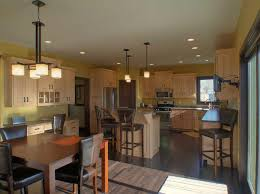 Kitchen Design Classic Pendant Light Flawless Room Design Kitchen - Open floor plan kitchen