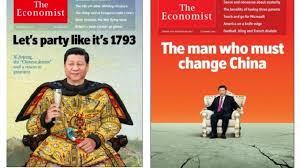 economist cover xi makes the economist cover again but beijings censors are