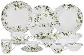 <b>Набор из 2-х суповых</b> тарелок 23 см фарфор белый/декор серия ...
