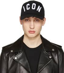 Dsquared Uk Sale Clothing Dsquared2 Black Icon Cap Men