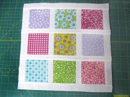 Simple Square Quilt Patterns Inspiration Brady Bunch Inspired Nine Patch Block FaveQuilts
