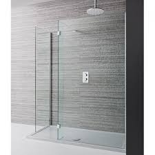 Simpsons Design Walk In Shower Enclosure & Shower Tray